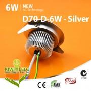6W AC COB LED Downlight - Samsung