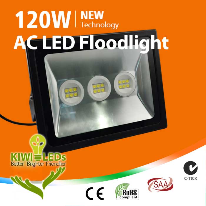 Ip66 120w Ac Led Floodlight Samsung Kiwiled
