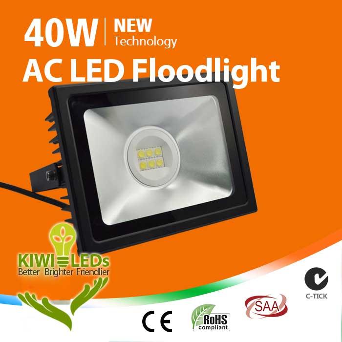 IP65 40W AC LED Floodlight - Samsung