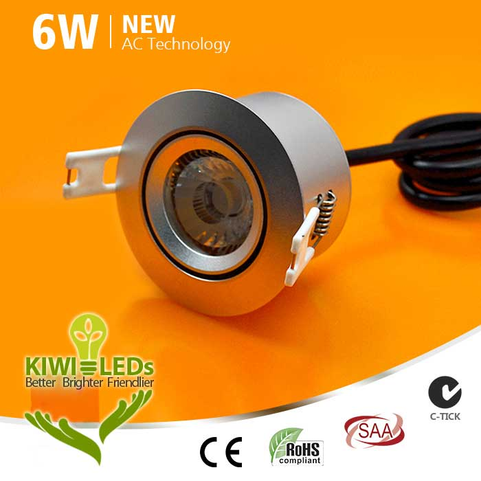6W AC COB LED Downlight - Samsung