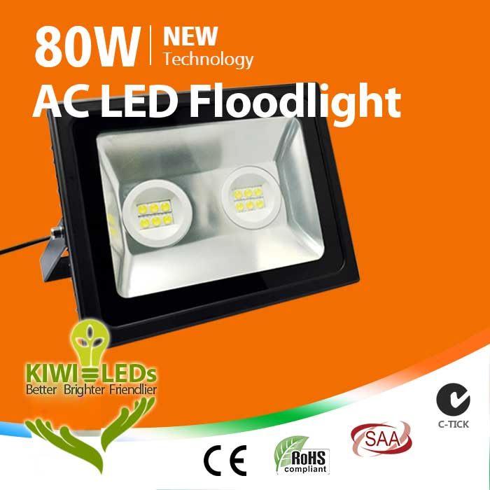 IP65 80W AC LED Floodlight - Samsung