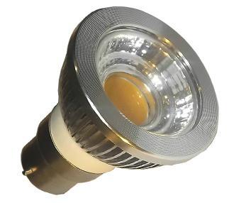 6W COB LED B22 Spotlight