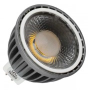 MR16 LED – 6WATT COB – Black Fitting